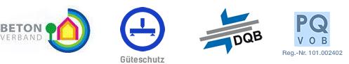 Betonverband, Güteschutz, DQB, TÜV Nord