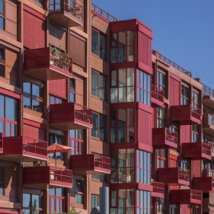 Architekturbeton, Betonfertigteile, Balkone, Mehrfamilienhaus Am Lokdepot Berlin