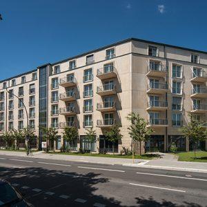 Architekturbeton, Betonfertigteile, Balkone, Victors Residenz-Hotel Berlin