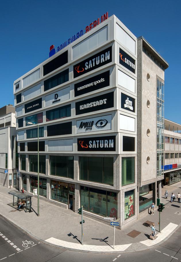 einkaufszentrum boulevard berlin haus 4 und haus 9 geithner bau. Black Bedroom Furniture Sets. Home Design Ideas